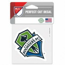 Seattle Sounders Decal 4x4 Perfect Cut Color