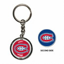 Montreal Canadiens Key Ring Spinner Style
