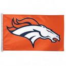 Denver Broncos Flag 3x5 Orange with Horse Head