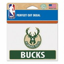Milwaukee Bucks Decal 4.5x5.75 Perfect Cut Color Special Order