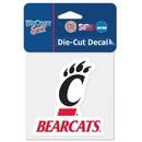 Cincinnati Bearcats Decal 4x4 Perfect Cut Color Special Order