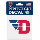 Dayton Flyers Decal 4x4 Perfect Cut Color Special Order