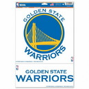 Golden State Warriors Decal 11x17 Multi Use 2 Decals