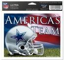 Dallas Cowboys Decal 5x6 Ultra Color America's Team