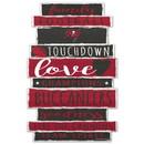 Tampa Bay Buccaneers Sign 11x17 Wood Established Design