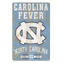 North Carolina Tar Heels Sign 11x17 Wood Slogan Design