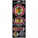 Chicago Blackhawks Stickers Prismatic