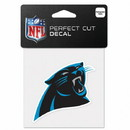 Carolina Panthers Decal 4x4 Perfect Cut Color