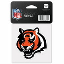 Cincinnati Bengals Decal 4x4 Perfect Cut Color - Special Order