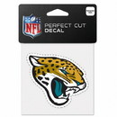 Jacksonville Jaguars Decal 4x4 Perfect Cut Color Special Order