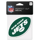 New York Jets Decal 4x4 Perfect Cut Color