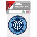 New York City FC Decal 4x4 Perfect Cut Color