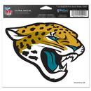 Jacksonville Jaguars Decal 5x6 Ultra Color