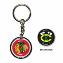 Chicago Blackhawks Key Ring Spinner Style Special Order