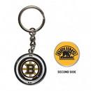 Boston Bruins Key Ring Spinner Style