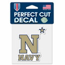 Navy Midshipmen Decal 4x4 Perfect Cut Color Special Order