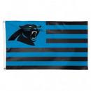 Carolina Panthers Flag 3x5 Deluxe Americana Design