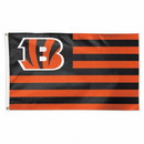 Cincinnati Bengals Flag 3x5 Deluxe Americana Design