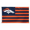 Denver Broncos Flag 3x5 Deluxe Americana Design
