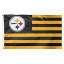 Pittsburgh Steelers Flag 3x5 Deluxe Americana Design