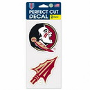Florida State Seminoles Set of 2 Die Cut Decals