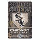 Chicago White Sox Sign 11x17 Wood Slogan Design