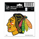 Chicago Blackhawks Decal 3x4 Multi Use Color