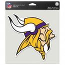 Minnesota Vikings Decal 8x8 Die Cut Color