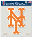 New York Mets Decal 8x8 Die Cut Color