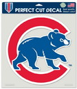 Chicago Cubs Decal 8x8 Die Cut Color