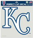 Kansas City Royals Decal 8x8 Die Cut Color