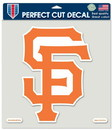 San Francisco Giants Decal 8x8 Die Cut Color