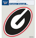 Georgia Bulldogs Decal 8x8 Die Cut Color