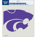 Kansas State Wildcats Decal 8x8 Die Cut Color