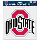 Ohio State Buckeyes Decal 8x8 Die Cut Color