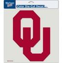Oklahoma Sooners Decal 8x8 Die Cut Color
