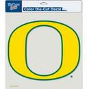 Oregon Ducks Decal 8x8 Die Cut Color