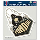 Purdue Boilermakers Decal 8x8 Die Cut Color