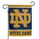 Notre Dame Fighting Irish Flag 12x18 Garden Style 2 Sided