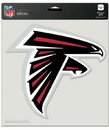 Atlanta Falcons Decal 8x8 Die Cut Color