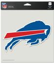 Buffalo Bills Decal 8x8 Die Cut Color