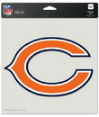 Chicago Bears Decal 8x8 Die Cut Color