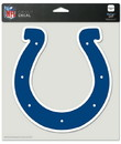 Indianapolis Colts Decal 8x8 Die Cut Color
