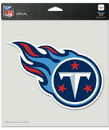 Tennessee Titans Decal 8x8 Die Cut Color