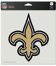 New Orleans Saints Decal 8x8 Die Cut Color