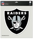 Oakland Raiders Decal 8x8 Die Cut Color