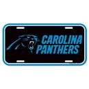 Carolina Panthers License Plate