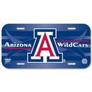 Arizona Wildcats License Plate Plastic
