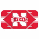 Nebraska Cornhuskers License Plate