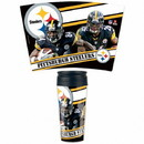 Pittsburgh Steelers Mug 16oz Travel Contour Style Special Order